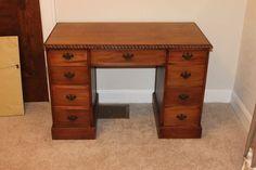 Beautiful Antique Mahogany Desk