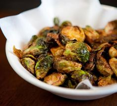 uchiko's brussels sprouts with lemon and chili.