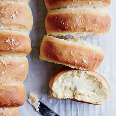 Here's how to make chef Alex Guarnaschelli's incredible Parker House rolls at home.