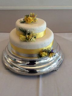 Cake decoration by Cathey's flowers