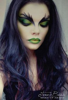 46 Pretty and Unique Makeup Looks For Halloween Make-up 35 Halloween Ma., 46 Pretty and Unique Makeup Looks For Halloween Make-up 35 Halloween Makeup Ideas For Women. Halloween Makeup Witch, Halloween Makeup Looks, Halloween Looks, Halloween 2019, Halloween Ideas, Halloween Party, Women Halloween, Halloween Witches, Creepy Halloween