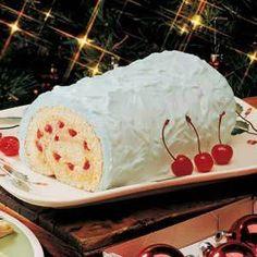 Eggnog Cake Roll Recipe - Holiday Cottage Cake Rolls, Christmas Recipe, Eggs Nog, Eggnog Cake, Food, Vanilla Extract, Eggnog Rolls, Eggnog Recipe, Rolls Recipe