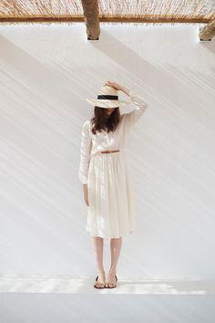 Eté 2016 - Robe mi-longue en coton