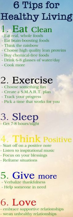 6 easy tips for improving physical and mental health Source: http://www.jeanetteshealthyliving.com