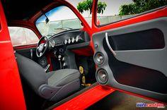 Fusca tuning | Fusca 1971 Turbo, Aircooled injetado, aro 17, interior customizado #59