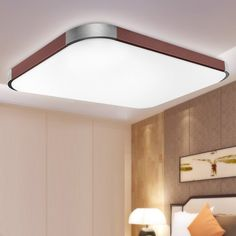 Natsen® LED Ceiling Light Modern ceiling lamp Fit Bedroom Living room Brow I501H 27W-(650 MM × 430 MM) [Energy Class A++]: Amazon.co.uk: Lighting