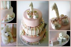 couture baby shower cakes | Baby Dior First Birthday Cake | Flickr - Photo Sharing!