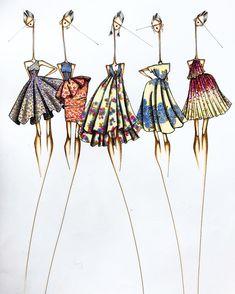 Fashion Illustration Tutorial, Fashion Drawing Tutorial, Fashion Figure Drawing, Fashion Illustration Dresses, Fashion Design Classes, Fashion Design Drawings, Fashion Design Portfolio, Fashion Sketches, Ballet Illustration