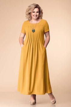 Dresses for overweight girls and women in Belarus … - fettleibigkeit Modest Dresses, Simple Dresses, Plus Size Dresses, Casual Dresses, Classy Dress, Classy Outfits, Dress Outfits, Fashion Outfits, Night Dress For Women