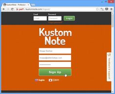 Create templates for Evernote using Kustom Note. Good tutorial with lots of step-by-step images