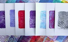 Printing with Gelli Arts®: When Gelli Meets MagicStamps™