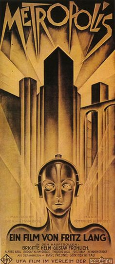 UFA colour lithograph, Designer - Heinz Schulz-Neudamm, Berlin, 1927