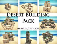 Desert Building Pack Minecraft Project