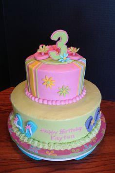 Kayton's Flip-Flop Cake | Flickr - Photo Sharing!