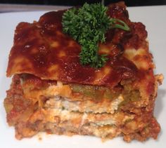 Oven Ready - no boil gluten free lasagna noodles..so easy and delicious!