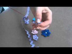Aprenda a fazer uma linda flor de sianinha para enfeitar suas peças
