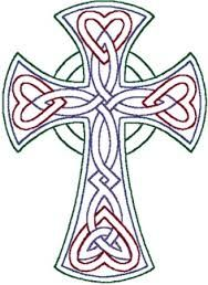 Redwork Celtic Trinity Knot Cross Embroidery Design Y Blank Pattern Religious Crosses Angels Etc Patterns Art
