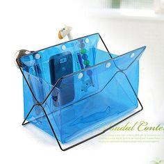 [US$6.23] Honana HN-B20 Multifunctional Desk Organizer Colorful PVC Comsmetics Staionary Storage Box #honana #hnb20 #multifunctional #desk #organizer #colorful #comsmetics #staionary #storage