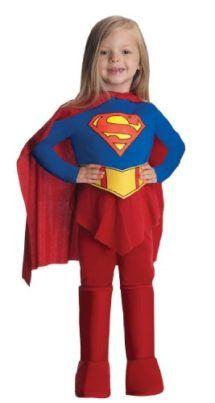 DELUXE Supergirl Costume  Girls Superhero Costumes #Halloween #Costume #Superhero