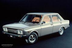 FIAT 131 Supermirafiori 4 doors