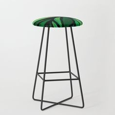 Mermaid Purple Teal Aqua Faux Glitter Ombre Gradient Kitchen Bar Stool by Girly Trend - Black Green Bar Stools, Modern Bar Stools, Pub Chairs, Dining Room Chairs, Eames Chairs, Garden Chairs, Blue Bar, Mint Bar, Counter Height Bar Stools