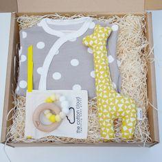 """Unsere Box """"Spotty"""" als zauberhaftes Geschenk zur Geburt"""