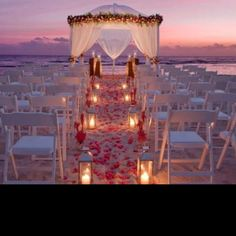 Someday I am going to fall in love again and my wedding is going to be amazing. I want a beach wedding...standing barefoot in the sand on a tropical island with just the sounds of the waves rolling in.....