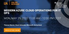 Webinar: Modern Azure Cloud Operations for IT Ops - Thomas Maurer Business Requirements, Public Speaking, Microsoft, Clouds, Learning, Modern, Tools, Trendy Tree, Instruments