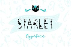 ♥ Starlet Typeface - Font with stars and illustrations for dreamers! ♥ This script is perfect for cards, prints, logos, invitations, arrange illustration and Christmas Doodles, Christmas Quotes, Christmas Humor, Christmas Ad, Winter Fonts, Graphic Illustration, Illustrations, Photoshop Fonts, Scandinavian Kids
