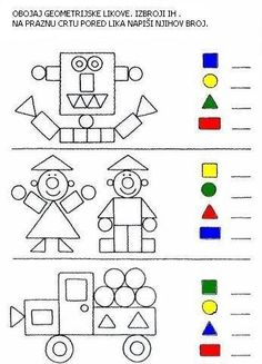 activities math preschool / activities math for kids activities math preschool activities math Preschool Learning Activities, Preschool Activities, Shape Activities, Geometry Activities, Preschool Writing, Kindergarten Math Worksheets, Math For Kids, Kids Education, Barn