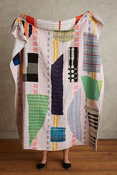 But it's so cool! Anthropologie - Color Theory Throw