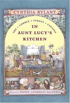 In Aunt Lucy's Kitchen (Cobble Street Cousins #1) (Ready-for-Chapters) by Cynthia Rylant. Have a new reader in the house? Try this series about three girls who stay with their aunt during the summer....