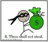 Church House Collection has a Thou Shalt Not Steal Sunday School Lesson for kids in Sunday school or Children's Church. This is the commandment of the Ten commandments. We have all 10 of the commandments broken down in lesson plans. Preschool Bible Lessons, Bible Study Lessons, Bible Object Lessons, Fhe Lessons, Bible Study For Kids, Lessons For Kids, Sunday School Projects, Sunday School Lessons, School Ideas