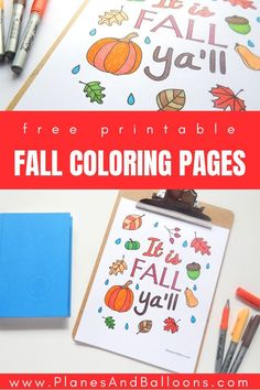 Fall coloring pages for grown ups FREE printable! I am totally adding these to my FALL crafts for adults, diy projects and coloring pages. My fall list is growing for sure. Free Kids Coloring Pages, Coloring Pages For Grown Ups, Fall Coloring Pages, Coloring Pages For Kids, Coloring Book, Fall Activities For Toddlers, Fall Crafts For Adults, Fall Art Projects, Projects For Kids