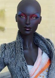 ooak black barbies | Black Barbie