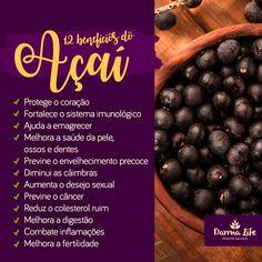 Acai Recipes, Vegan Recipes, Wellness, Acai Bowl, Blueberry, Detox, Food And Drink, Nutrition, Fruit
