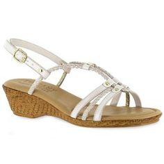 Easy Street Lucca Women's Wedge Sandals
