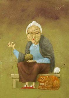 Ficelle et ficeler - Significations & Interprétations de rêves - tableau ©Andrey Popov - 1970-.... Book Art, Painting, Bag, Graphic Art, Dream Interpretation, Twine, Tools, Board, Painting Art
