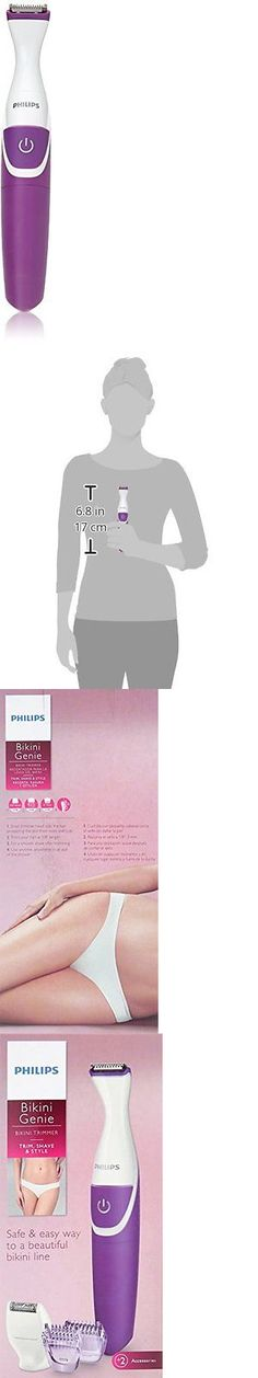 Womens Shavers: Philips Bikini Trimmer W/ Shaving Head And Comb Women Girl Shaver Legs Hair New BUY IT NOW ONLY: $31.51