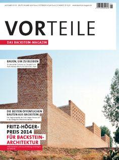 Vorteile. Ausgabe 01/14. Sumario: http://www.backstein-magazin.de/templates/vorteile012014/start.php Na biblioteca: http://kmelot.biblioteca.udc.es/record=b1182820~S1*gag