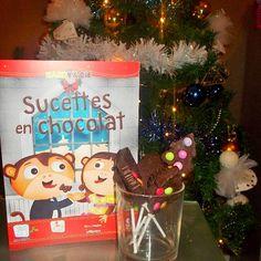 {Ma valisette de l'Avent} Sucettes en chocolat