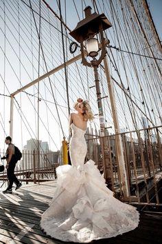 Stunning Pnina Tornai Wedding Dresses Part II - MODwedding