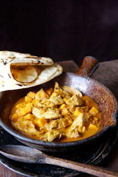 Chicken and Sweet Potato Vindaloo