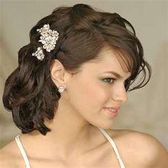 short hairstyles for weddings   #1 Wedding ideas