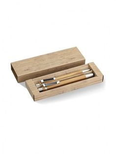 Sustainable Writing Set Elegant Bamboo Wooden Ballpoint Pen Set of 2 Stationery with Mechanical Pencil Stationery in Cardboard Box Bamboo Pen, Content Management System, Web Design, Eco Green, Pens And Pencils, Pencil Writing, Mechanical Pencils, Pen Sets, Ballpoint Pen