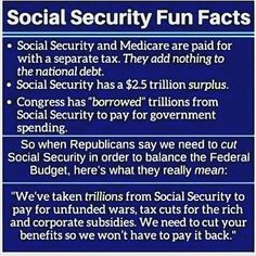 238 Best social security images in 2019 | Politics, Social security