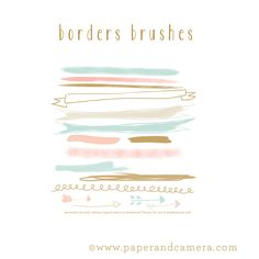 Borders Brushes