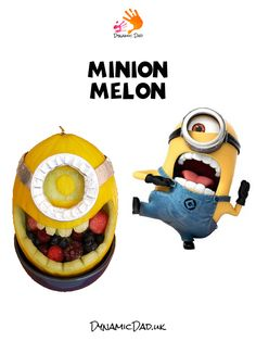 Have fun in the kitchen, get your 5 a day and learn how to make a Minion melon! This great kids craft activity is sure to give them stories to show off with Parenting Toddlers, Parenting Hacks, Craft Activities For Kids, Crafts For Kids, Good Food, Fun Food, Minions, Something To Do, Childhood