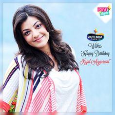 #You've Got Style #SISM Wishing Gorgeous Actress #Kajal Aggarwal a very Happy Birthday. Here is some Intresting Info about her. Full Name: Kajal Agarwal Home Name: Kaaju Height : 5'4 Eye Color: Black Favorite Colors: Blue, white and Red. Favorite Dress: Jeans, t-shirts and Sarees. Favorite Places: Kerala, Goa. Favorite Sports: Cricket. Favorite Food: Hyderabadi Biryani, any Spicy foods. Favorite Actors: Mahesh Babu, Shahrukh Khan. Favorite Actress: Kajol, Preity Zinta.