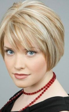 Short wavy bob hairstyle with side swept bangs - 21 best short wavy bobs